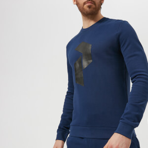 Peak Performance Men's Zero Crew Neck Sweatshirt - Navy