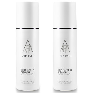 ALPHA-H TRIPLE ACTION CLEANSER 200ML 2 for 1