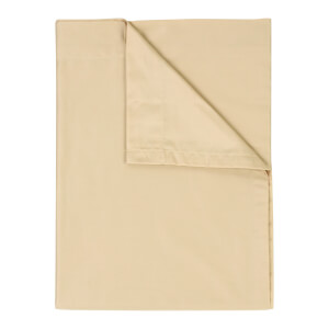 Christy 400TC Sateen Flat Sheet - Gold