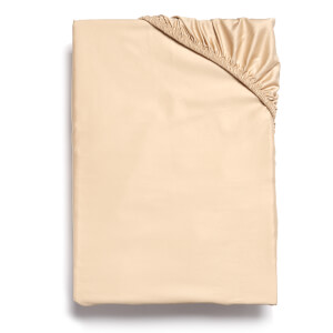 Christy 400TC Sateen Fitted Sheet - Gold