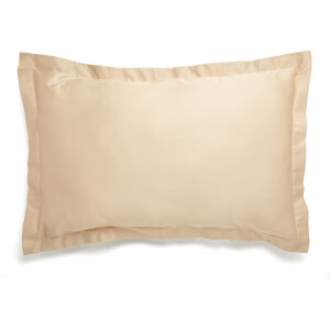 Christy 400TC Sateen Oxford Pillowcase Pair Gold