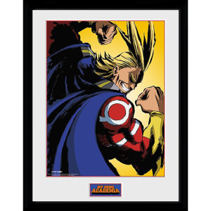 My Hero Academia All Might Framed Photograph 12 x 16 Inch