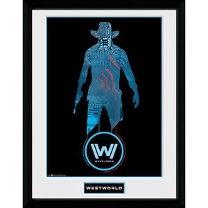 Westworld Silhouette Framed Photograph 12 x 16 Inch
