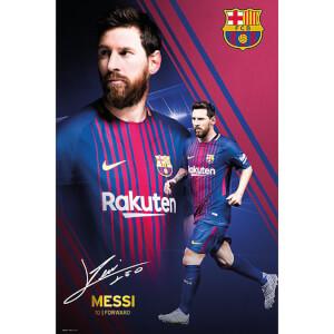 Barcelona Messi Collage 17/18 Maxi Poster 61 x 91.5cm