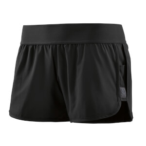 Skins Activewear Women's Swipe Hi-Lo Shorts - Black