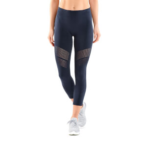 Skins DNAmic Women's Seamless 7/8 Skyscraper Tights - Harbour