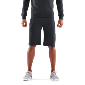 Skins Activewear Men's Linear Tech Fleece Shorts - Charcoal Marle