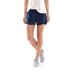 Skins Activewear Women's Swipe Hi-Lo Shorts - Harbour
