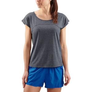 Skins Activewear Women's Code Cap T-Shirt - Black Marle