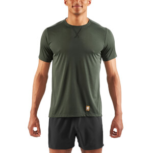 Skins Activewear Men's Fitness Avatar Short Sleeve Top - Utility Marle