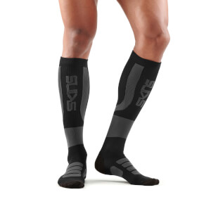 Skins Essentials Men's Active Compression Socks - Black/Charcoal