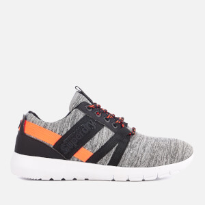 Superdry Sport Women's Scuba Stadium Trainers - Grey-Slub Coral