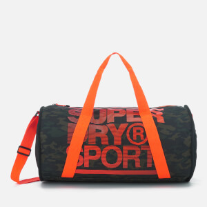 Superdry Sport Men's Sports Barrel Bag - Camo