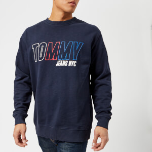 Tommy Jeans Men's Vintage Graphic Sweatshirt - Black Iris
