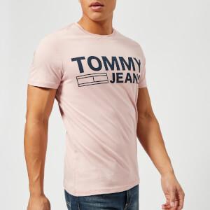 Tommy Jeans Men's Basic Crew Neck T-Shirt - Violet Ice