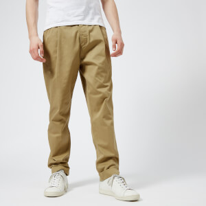 Universal Works Men's Single Pleat Trousers - Sand