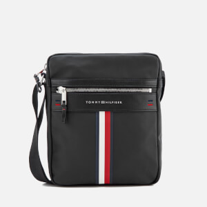 Tommy Hilfiger Men's Elevated Reporter Bag - Black