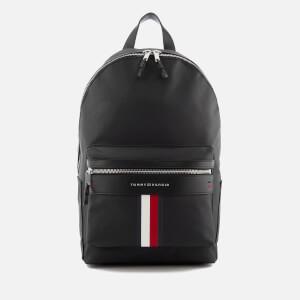 Tommy Hilfiger Men's Elevated Backpack - Black
