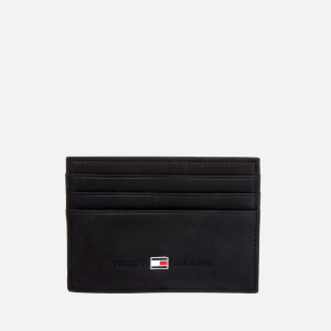 Tommy Hilfiger Men's Johnson Credit Card Holder - Black