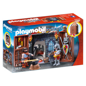 Playmobil Knights' Armoury Play Box (5637)