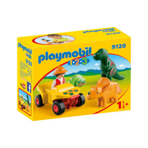 Playmobil Dinoforscher mit Quad (9120)