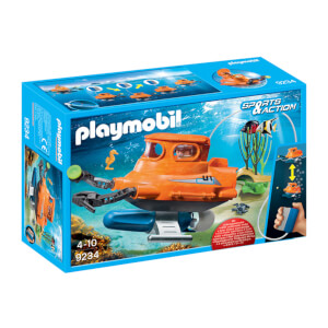 Playmobil Sports & Action Submarine with Underwater Motor (9234)