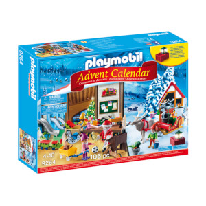 Playmobil Advent Calendar 'Santa's Workshop' with Electronic Lantern (9264)