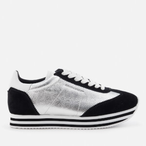 Rebecca Minkoff Women's Susanna Runner Trainers - Rock Silver