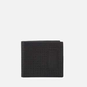 Superdry Men's Windsor Perf Leather Wallet - Black