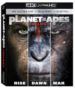 Planet Of The Apes Trilogy - 4K Ultra HD