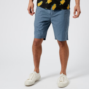 PS by Paul Smith Men's Standard Fit Shorts - Pale Blue