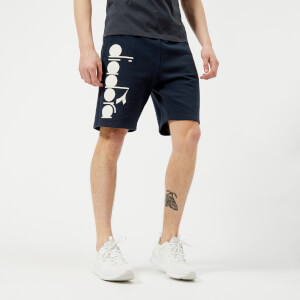 Diadora Men's Bermuda Shorts - Blue