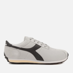 Diadora Men's Sirio Trainers - White Sand/Black