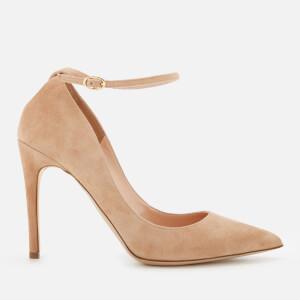Rupert Sanderson Women's Balance Suede Court Shoes - Cappuccino