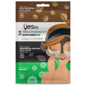 yes to Triple Masking Kit - Calm, Detox, Glow