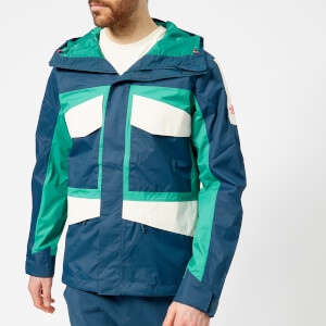 The North Face Men's Fantasy Ridge Jacket - Blue Wing Teal/Porcelain Green/Vintage White