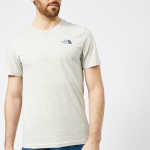 The North Face Men's Short Sleeve Simple Dome T-Shirt - TNF Oatmeal Heather