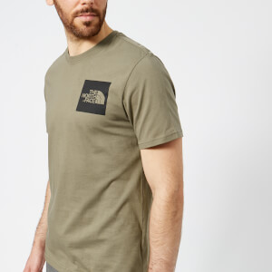 The North Face Men's Short Sleeve Fine T-Shirt - Deep Lichen Green