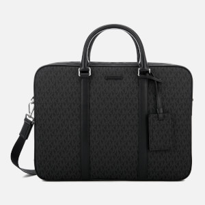 Michael Kors Men's Jet Set Logo Briefcase - Black