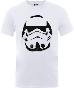 Star Wars Paint Spray Stormtrooper T-Shirt - White