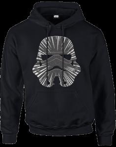 Sweat à Capuche Homme Hyperspeed Stormtrooper - Star Wars - Noir