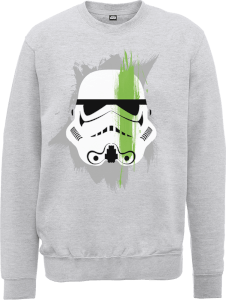Star Wars Paintstroke Stormtrooper Sweatshirt - Grey