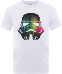 Star Wars Vertical Lights Stormtrooper T-Shirt - Weiß