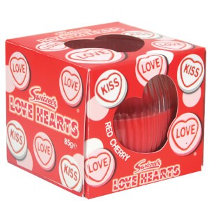 Swizzels Love Heart Red Cherry Candle 85g