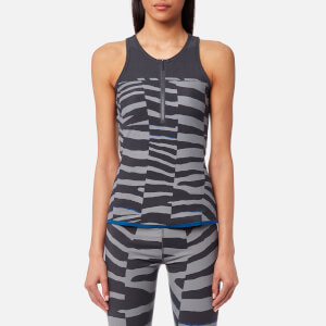 adidas by Stella McCartney Women's Train Miracle Tank Top - Night Steel/Sold Grey/ EQT Blue