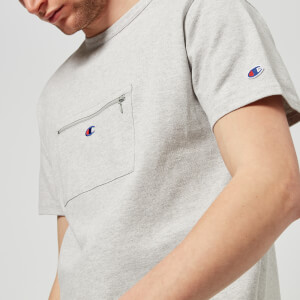 Champion X Beams Men's Front Pocket T-Shirt - Grey
