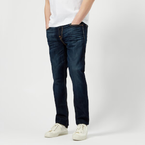 7 For All Mankind Men's Slimmy Airweft Denim Jeans - Commotion