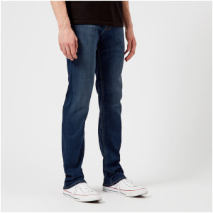 7 For All Mankind Men's Slimmy Luxe Performance Plus Jeans - Mid Blue