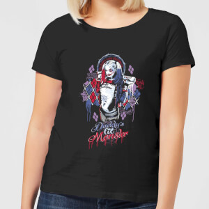 T-Shirt DC Comics Suicide Squad Daddys Lil Monster - Nero - Donna