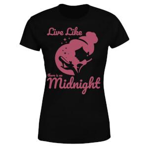 Disney Princess Midnight Women's T-Shirt - Black